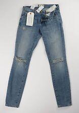 Current Elliott The Stiletto Ticker Destroy Jeans distressed Denim Size 24 NWT