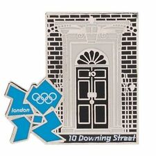 London 2012 Olympics 10 Downing Street Icon Pin