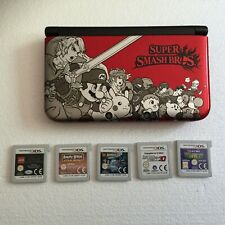 Nintendo 3DS XL Super Smash Bros Ltd  Edition + 5 Games