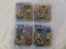 Palisades Toys Ren & and Stimpy Mr. Horse Shaven Yak Lot Set of 4 Action Figures