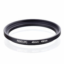 46mm to 49mm 46-49 46-49mm46mm-49mm Stepping Step Up Filter Ring Adapter