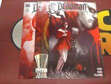 Deadman Dark Mansion of Forbidden Love (DC Comics) #1-3 Set (1,2,3) Vaugh Medina