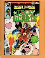 Marvel Premiere #44 The Jack Of Hearts VF to VF+