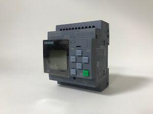 Siemens 6ED1052-1CC01-0BA8 LOGO! 24CE Logikmodul Display DC 24V