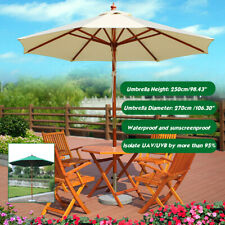 Outdoor Waterproof Umbrella Cover Garden Parasol Sun Shade Isolate UAV UVB