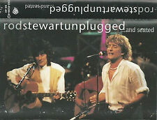 ROD STEWART UNPLUGGED AND SEATED CASSETTE ALBUM ACOUSTIC ROCK POP