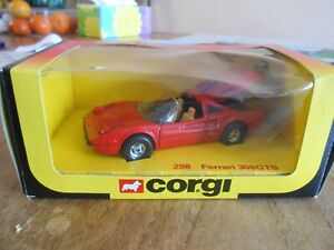 Corgi 298 Magnum Pi Ferrari 308GTS Mint Condition in excellent original box