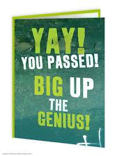 Brainbox CANDY congratulazioni ben fatto superato greeting card Divertenti Novità