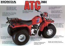 1982-83 Honda 200E Big Red ATC owner/repair manual