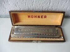 Hochwertige Mundharmonikas , Hohner Chromonika 3  C ,  19,5cm   !