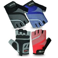 Apex wear Men Cycling Gloves Bike Half Finger Bicycle Padded Fingerless Sports