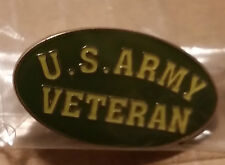 Us Army Veteran Lapel Pin Hat Pin Military United States New