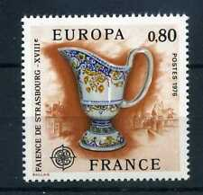 FRANCE 1976 timbre 1877, EUROPA, Faience, neuf**