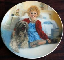 "Knowles/Wm. Chambers ""Annie & Sandy"" Ltd Ed. Plate"