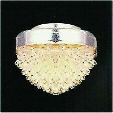 Dolls House Lighting:   Ceiling Light with Silvery Shade    12th scale
