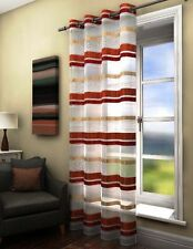 Unbranded Polyester Striped Curtains & Pelmets
