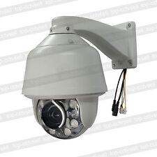 Auto tracking SONY CMOS 1200TVL 30X ZOOM 360°/s PTZ Dome Camera 8PCS IR LED 960H