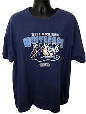 West Michigan Whitecaps MiLB Mens XXL Blue T Tee Shirt Crew Neck