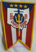 PUS269 - US NAVY USS OHIO SSBN 726 PATCH SOUS-MARIN NUCLEAIRE