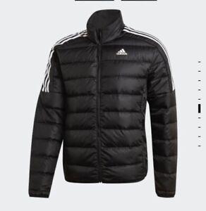NWT Adidas Essentials Black Down Jacket Size XL