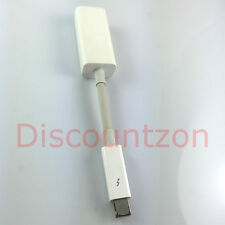 Original/Genuine Apple A1433 Thunderbolt to Gigabit Ethernet RJ45 Adapter Cable
