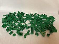 Lego Green Pieces Bulk Lot Bricks Blocks Windows Stick Feather (6+ Ounces)