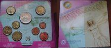 SERIE UFFICIALE 2007  ITALIA IPZS MONETE EURO con  5 EURO ARGENTO