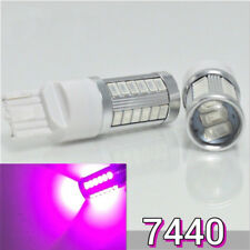 Front Turn Signal Light T20 7440 7441 w21w 992 12V 33 Purple LED Bulb K1 AC HAK