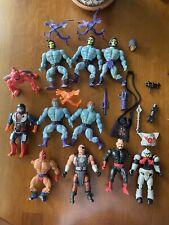 Mattel MOTU He-Man Figures Lot #1:  Ninjor; Blade; Skeletor; Faker; Clawful; etc