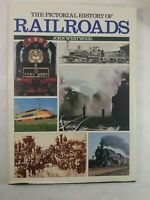 """The Pictorial History of Railroads John Westwood coffee table book 14.5"""" x 10.5"""""""