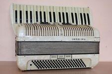 Hohner Verdi III M 120 bass Vintage LMM Accordion Akkordeon Fisarmonica + Case