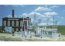 Walthers 933-3025 HO Northern Light & Power subestación Conjunto edificio