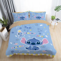 3D  Stitch Kids Bedding Set Duvet Cover Pillowcase Comforter/Quilt Cover