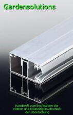 Doppelstegplatten Befestigungsprofile von 10mm bis 32mm