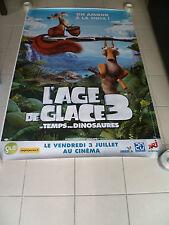 AFFICHE AGE DE GLACE ICE AGE 3  4x6 ft Bus Shelter Original Movie Poster 2009