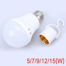 E27 Energy Saving Emergency LED Intelligent Bulb Outdoor Household Battery Light