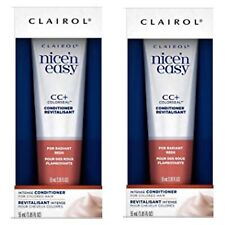 2 NEW Clairol Nice n Easy CC+ ColorSeal Conditioner for (Radiant Reds)