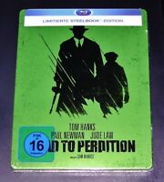 Road To Perdition Limitada steelbook Edición Con Innendruck blu ray Nuevo & Ovp