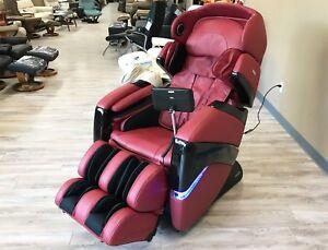 OS-3D Red Osaki Pro Cyber 3D Zero Gravity Massage Chair Recliner + Warranty