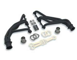 Flowtech Long Tube Header W/Air Fittings - Painted  - 43006SFLT