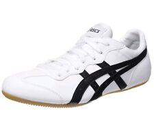 Asics Heritage WHIZZER Lo Unisex White & Black Low Top Trainers - H61RJ0190