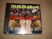 Los Rehenes Vs Los Grey's Pelea De Gallos Vol.2 (Audio Cd 1999) Los Greys Los Re