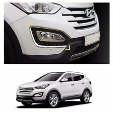 Fog Lamp Garnish Chrome Molding Set for Hyundai Santa Fe SPORT 2013-2016