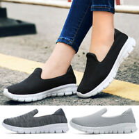 US Womens Shoes Loafers Fashion Sneakers Breathable Comfortable Casual Walking
