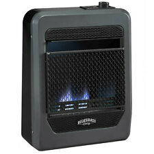 Bluegrass Living Natural Gas VentFree Blue Flame Gas Space Heater With Base Feet