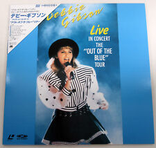 e038 Japan Laserdisc Debbie Gibson Live In Concert The `Out Of The Blue` Tour ♪