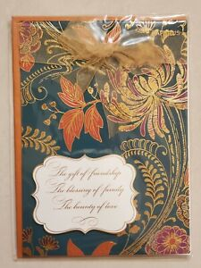 Papyrus Happy Thanksgiving Card - Friendship Family Love