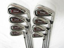 Titleist 716 AP1 4-GW Iron Set - XP 90 S300 Stiff (S) flex Steel Irons Used RH**