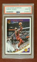 2018-19  Panini Donruss #94 LeBron James Lakers PSA 10 GEM MT (New Holder) 💎💎