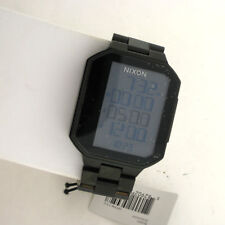 Nixon Synapse Gunmetal Digital Quartz Stainless Steel Link Watch A323-632